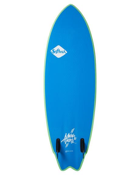 LIME YELLOW BOARDSPORTS SURF SOFTECH SOFTBOARDS - MHTII-LYL-056LMYE