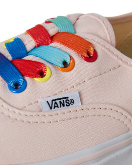 RAINBOW SHINE KIDS GIRLS VANS SNEAKERS - VNA38H4U43PNK