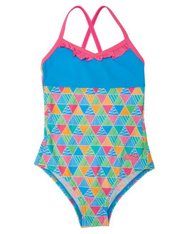 TURQUOISE MULTI KIDS TODDLER GIRLS ZOGGS SWIMWEAR - 5068180TURML