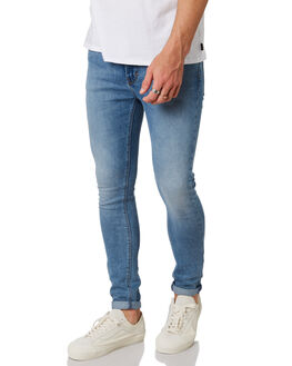WHISPERING BLUES MENS CLOTHING A.BRAND JEANS - 812474290