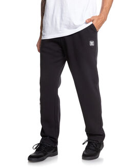 BLACK MENS CLOTHING DC SHOES PANTS - EDYFB03068-KVJ0