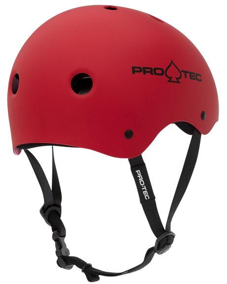 MATTE RED BOARDSPORTS SKATE PROTEC ACCESSORIES - 2000163MRED