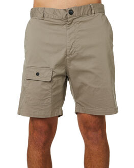 WASHED ALMOND OUTLET MENS ZANEROBE SHORTS - 602-CONWSALM