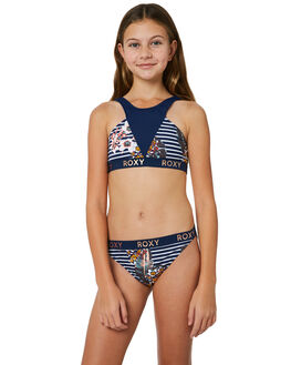 MEDIEVAL BLUE BDWALK KIDS GIRLS ROXY SWIMWEAR - ERGX203169BTE6