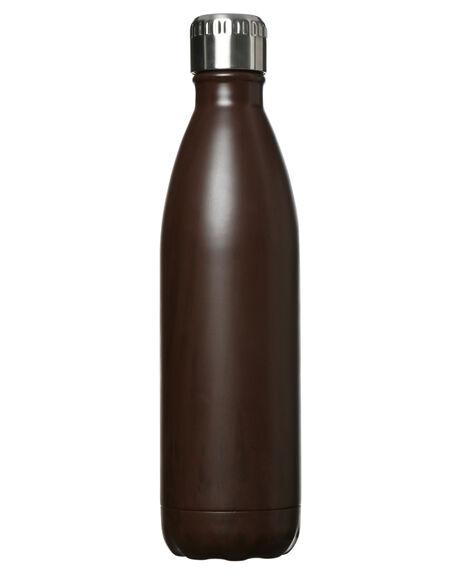 MAHOGANY MENS ACCESSORIES EARTH BOTTLES DRINKWARE - EB750EBO
