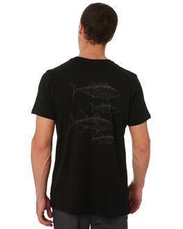 BLACK MENS CLOTHING DEPACTUS TEES - D5182003BLACK