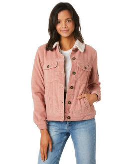 DUSTY ROSE WOMENS CLOTHING O'NEILL JACKETS - 5321512DSR