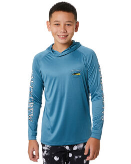 OCEAN BLUE KIDS BOYS SALTY CREW TOPS - 20135154YOCBLU