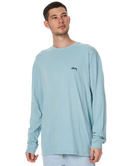 PIGMENT BLUE MENS CLOTHING STUSSY TEES - ST077001PBLU