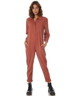 RUST WOMENS CLOTHING THRILLS PLAYSUITS + OVERALLS - WTH8-912HRST