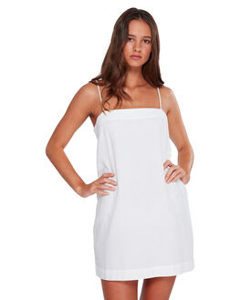WHITE WOMENS CLOTHING BILLABONG DRESSES - BB-6592471-WHT