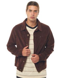 BROWN MENS CLOTHING AFENDS JACKETS - M181580BRN