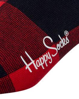 RED MENS CLOTHING HAPPY SOCKS SOCKS + UNDERWEAR - GIH01-4000RED