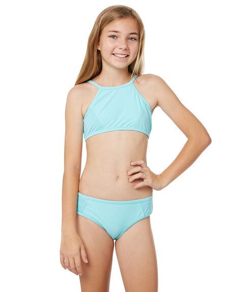 88ceba582dd5 Seafolly Girls Summer Essentials Apron Tankini - Aquamarine | SurfStitch