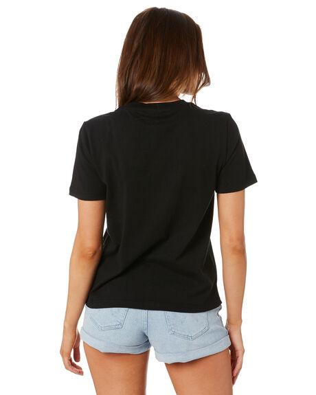 BLACK WOMENS CLOTHING LEE TEES - L-651906602