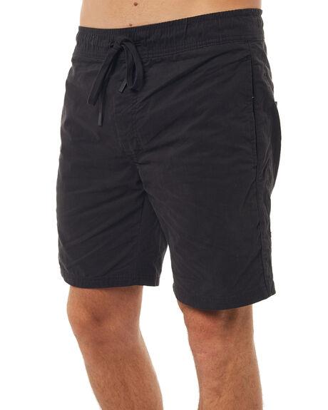 BLACK MENS CLOTHING ZANEROBE SHORTS - 611-WANBLK