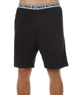 BLACK MENS CLOTHING BONDS SHORTS - MYX7ABLK