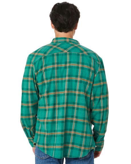 FERN MENS CLOTHING BRIXTON SHIRTS - 01124FERN