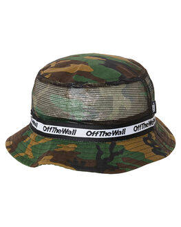 CAMO BLACK MENS ACCESSORIES VANS HEADWEAR - VN0000YMJ2RCAMO