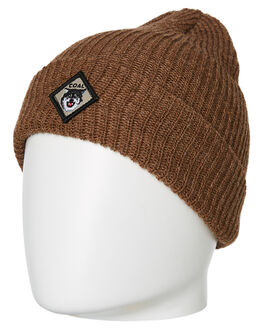 BROWN MENS ACCESSORIES COAL HEADWEAR - 244202BRN