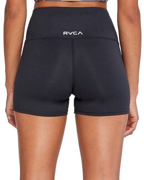 BLACK WOMENS CLOTHING RVCA ACTIVEWEAR - R418311-BLK