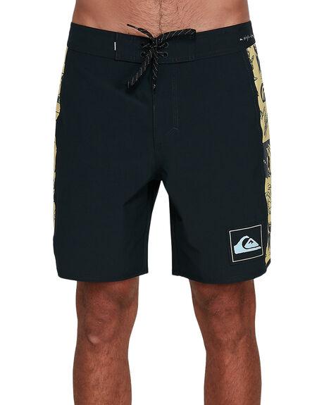 BLACK MENS CLOTHING QUIKSILVER BOARDSHORTS - EQYBS04258-KVJ0
