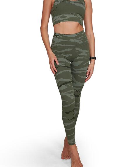 CAMOUFLAGE WOMENS CLOTHING RVCA ACTIVEWEAR - RV-R405280-CMU