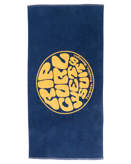 NAVY MENS ACCESSORIES RIP CURL TOWELS - CTWAU40049