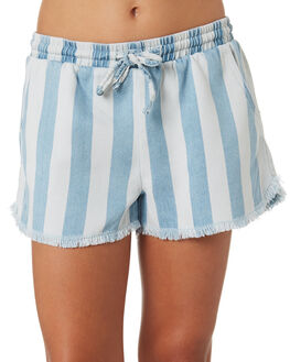 LIGHT BLUE WHITE KIDS GIRLS EVES SISTER SHORTS + SKIRTS - 9520035STR