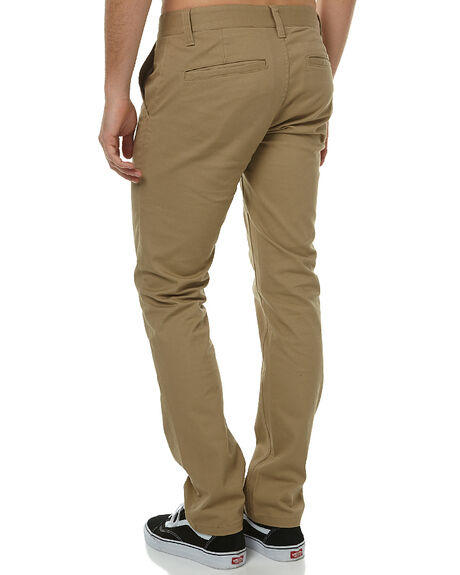 KHAKI MENS CLOTHING BRIXTON PANTS - 115-04044-0603KHA