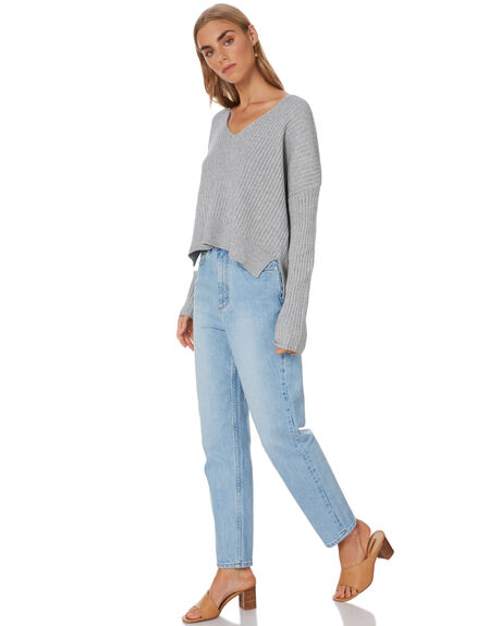 GREY MARLE WOMENS CLOTHING NUDE LUCY KNITS + CARDIGANS - NU23613GMARLE