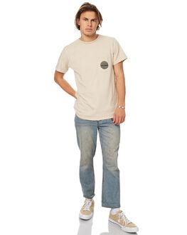 NATURAL MENS CLOTHING ALLAH LAS TEES - LASREVSS02NAT