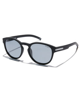 MATTE BLACK MENS ACCESSORIES LIIVE VISION SUNGLASSES - L0617BMBLK