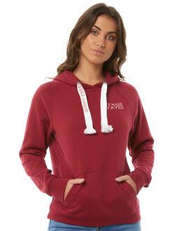 BURGANDY WOMENS CLOTHING BILLABONG JUMPERS - 6585738BURG