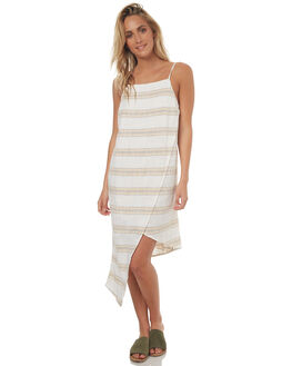 WHITE WOMENS CLOTHING BILLABONG DRESSES - 6572477WHT