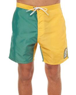 GREEN GOLD MENS CLOTHING KATIN BOARDSHORTS - TRSSDOG17GRNGLD