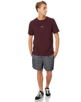 PLUM MARLE MENS CLOTHING RVCA TEES - R171043PMRL
