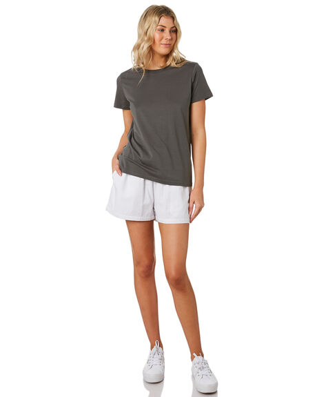 WHITE OUTLET WOMENS AS COLOUR SHORTS - 4030WHT