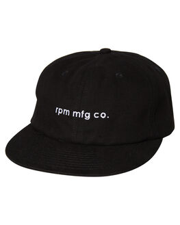 BLACK MENS ACCESSORIES RPM HEADWEAR - 9AAC01A8BLK