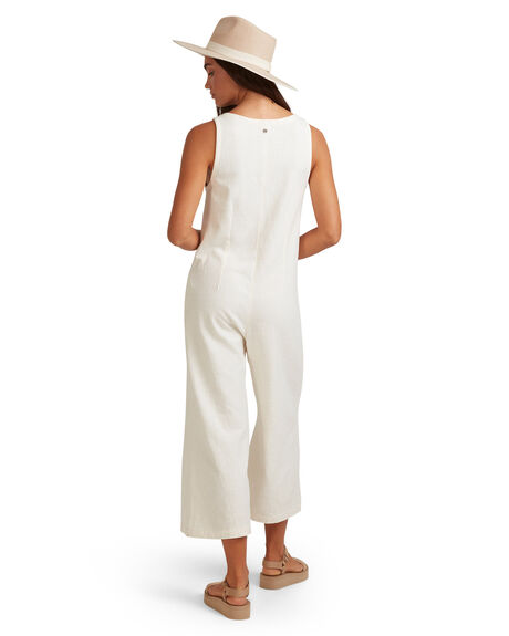 EGGNOG WOMENS CLOTHING BILLABONG PLAYSUITS + OVERALLS - BB-6517529-EGG