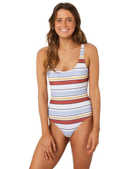 1bd3b98db0 Rip Curl Womens Surf Essentials Easy One Piece - Red Blue