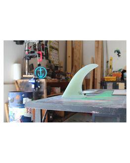 CLEAR BOARDSPORTS SURF CAPTAIN FIN CO. FINS - CFF0111503CLR