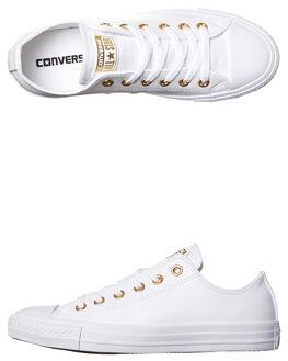 WHITE GOLD WOMENS FOOTWEAR CONVERSE SNEAKERS - 555963WHG