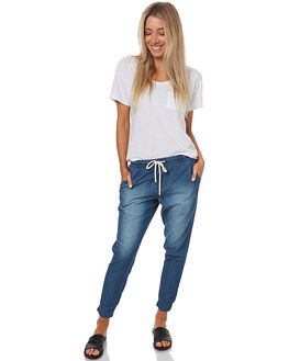 CHAMBRAY WOMENS CLOTHING SWELL PANTS - SW227CCHAM