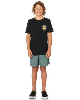 BLACK KIDS BOYS QUIKSILVER TOPS - EQBZT03847KVJ0