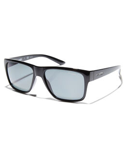 BLACK GREY MENS ACCESSORIES ARNETTE SUNGLASSES - AN4226-04BLKGR