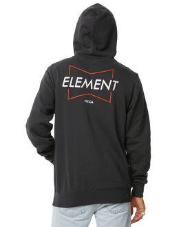 VINTAGE BLACK MENS CLOTHING ELEMENT JUMPERS - 186307AVBLK