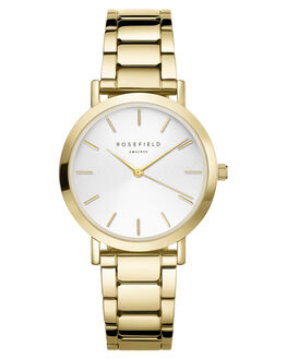 GOLD WOMENS ACCESSORIES ROSEFIELD WATCHES - TWSG-T61GLD