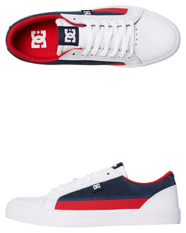 WHITE DC NAVYTRUERED MENS FOOTWEAR DC SHOES SNEAKERS - ADYS300489HDT