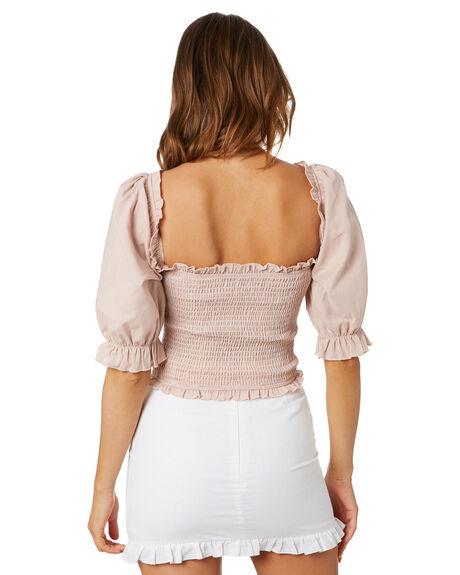 BLUSH WOMENS CLOTHING CHARLIE HOLIDAY FASHION TOPS - GSW7017BLS